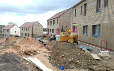 Passivhaus Afforable Housing at Callaughton